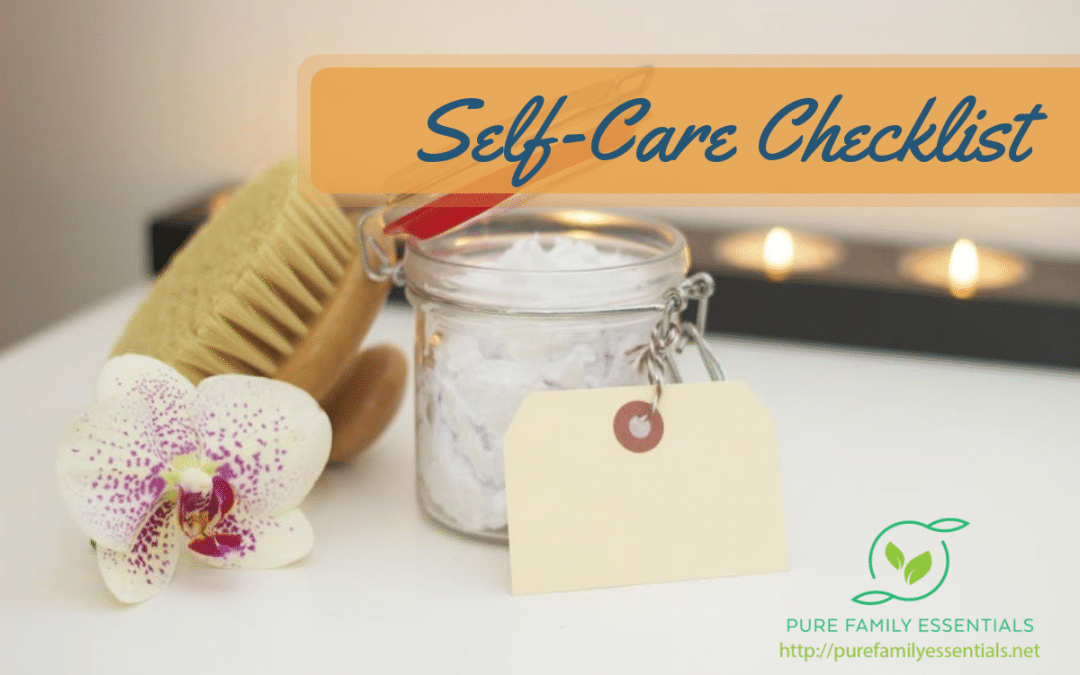 Self-Care Checklist
